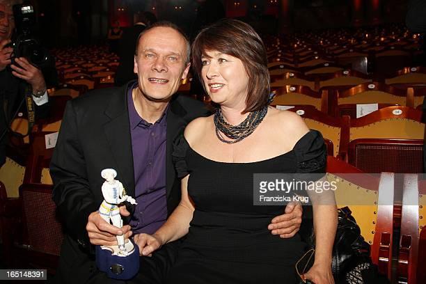 Edgar Selge Und Ehefrau Franziska Walser Bei Der 32 Verleihung Des Bayerischen Filmpreises In München