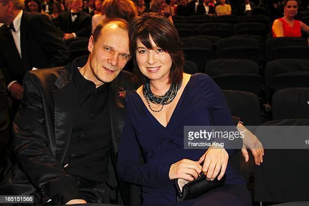 Edgar Selge Und Ehefrau Franziska Walser Bei Der Verleihung Der 46 Goldenen Kamera In Der UllsteinHalle In Berlin