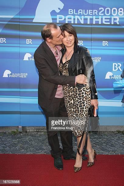 Edgar Selge Und Ehefrau Franziska Walser Bei Der Verleihung Des Bayerischen Fernsehpreis Im Prinzregententheater In München Am 090508