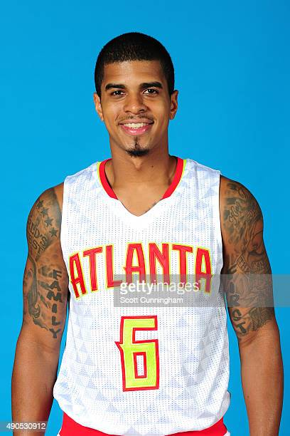 Edgar Sosa of the Atlanta Hawks poses for a photo during media day on September 28 2015 at Philips Arena in Atlanta Georgia NOTE TO USER User...