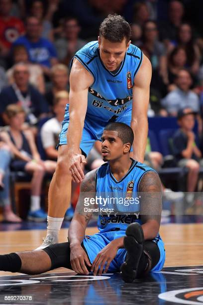 Edgar Sosa of the New Zealand Breakers looks on dejected during the round nine NBL match between the Adelaide 36ers and the New Zealand Breakers at...