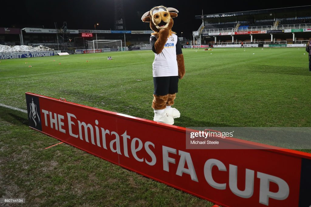 Hereford FC v Fleetwood Town - The Emirates FA Cup Second Round Replay