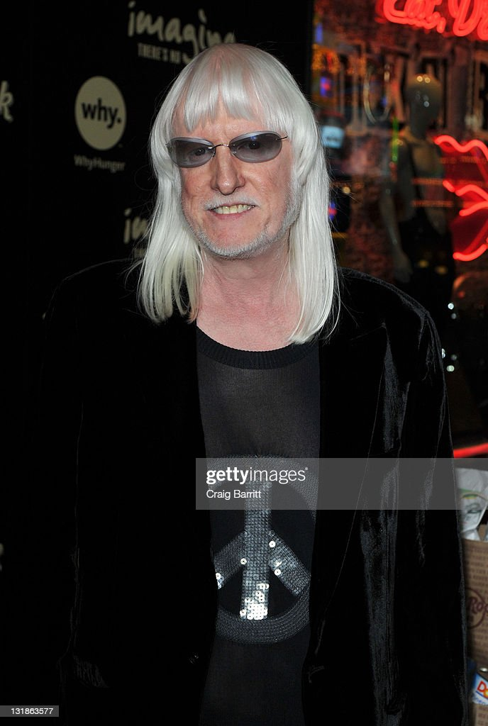 Edgar Winter attend 'Imagine There's No Hunger: Celebrating the Songs of John Lennon' Benefit at Hard Rock Cafe - Hollywood on November 2, 2010 in Hollywood, California.