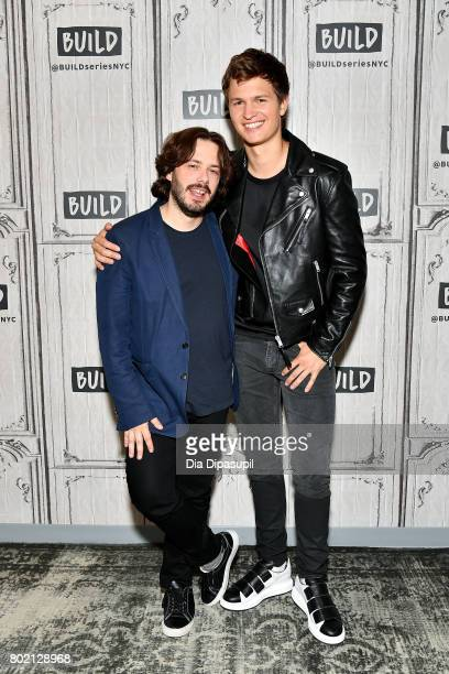 Edgar Wright and Ansel Elgort visit Build to discuss 'Baby Driver' at Build Studio on June 27 2017 in New York City