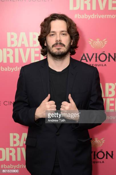Edgar Wright attends a screening of 'Baby Driver' hosted by TriStar Pictures and The Cinema Society at The Metrograph on June 26 2017 in New York City