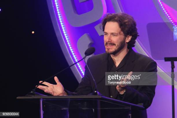 Edgar Wright attends the 55th Annual International Cinematographers Guild Publicists Awards at The Beverly Hilton Hotel on March 2 2018 in Beverly...