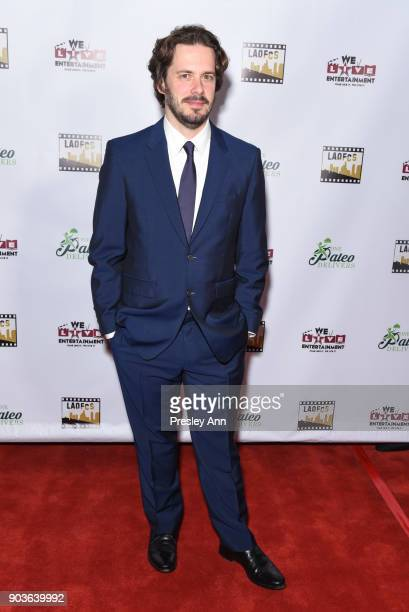 Edgar Wright attends The Inaugural Los Angeles Online Film Critics Society Award Ceremony at Taglyan Complex on January 10 2018 in Los Angeles...