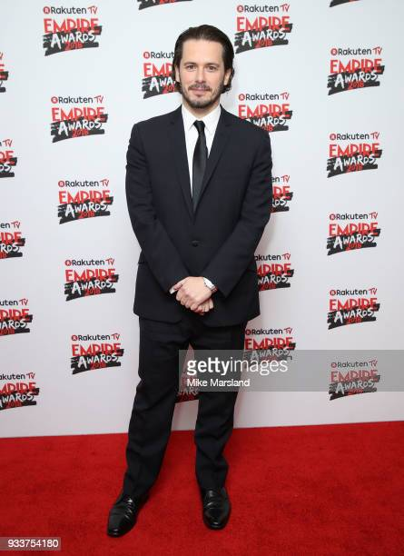 Edgar Wright attends the Rakuten TV EMPIRE Awards 2018 at The Roundhouse on March 18 2018 in London England