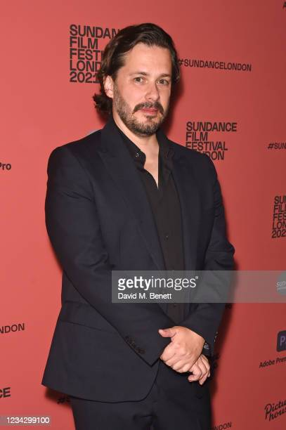 """Edgar Wright attends the UK Premiere of """"The Sparks Brothers"""" during The Sundance Film Festival London 2021 at Picturehouse Central on July 29, 2021..."""