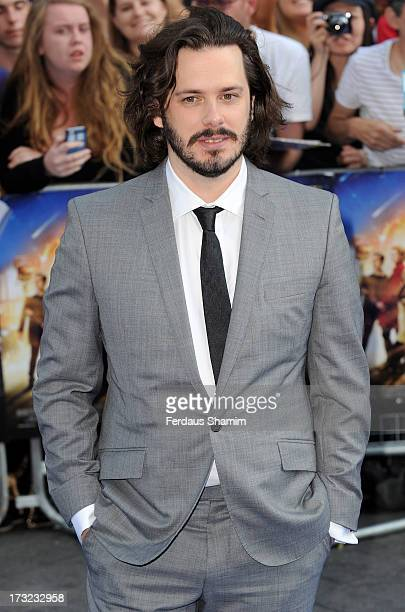 Edgar Wright attends the World Premiere of 'The World's End' at Empire Leicester Square on July 10 2013 in London England