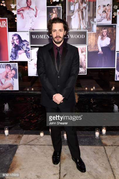 Edgar Wright attends Vanity Fair and Lancome Paris Toast Women in Hollywood hosted by Radhika Jones and Ava DuVernay on March 1 2018 in West...