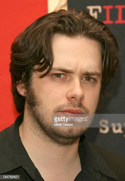 Edgar Wright during Preview screening of 'Hot Fuzz' in Los Angeles at Pacific's Grove Stadium 14 in Los Angeles California United States