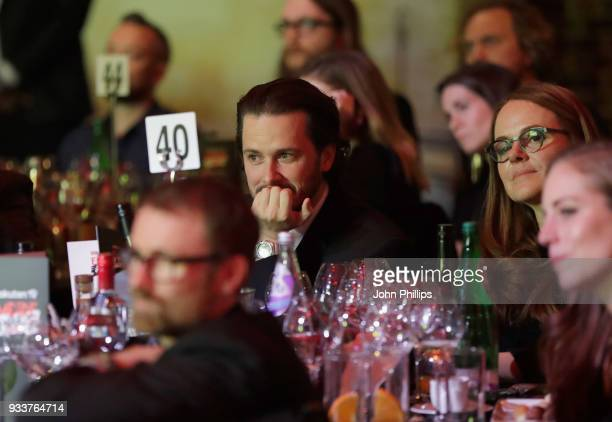 Edgar Wright during the Rakuten TV EMPIRE Awards 2018 at The Roundhouse on March 18 2018 in London England