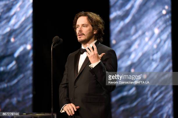 Edgar Wright presents Charlie Chaplin Britannia Award for Excellence In Comedy presented by Jaguar Land Rover at the 2017 AMD British Academy...