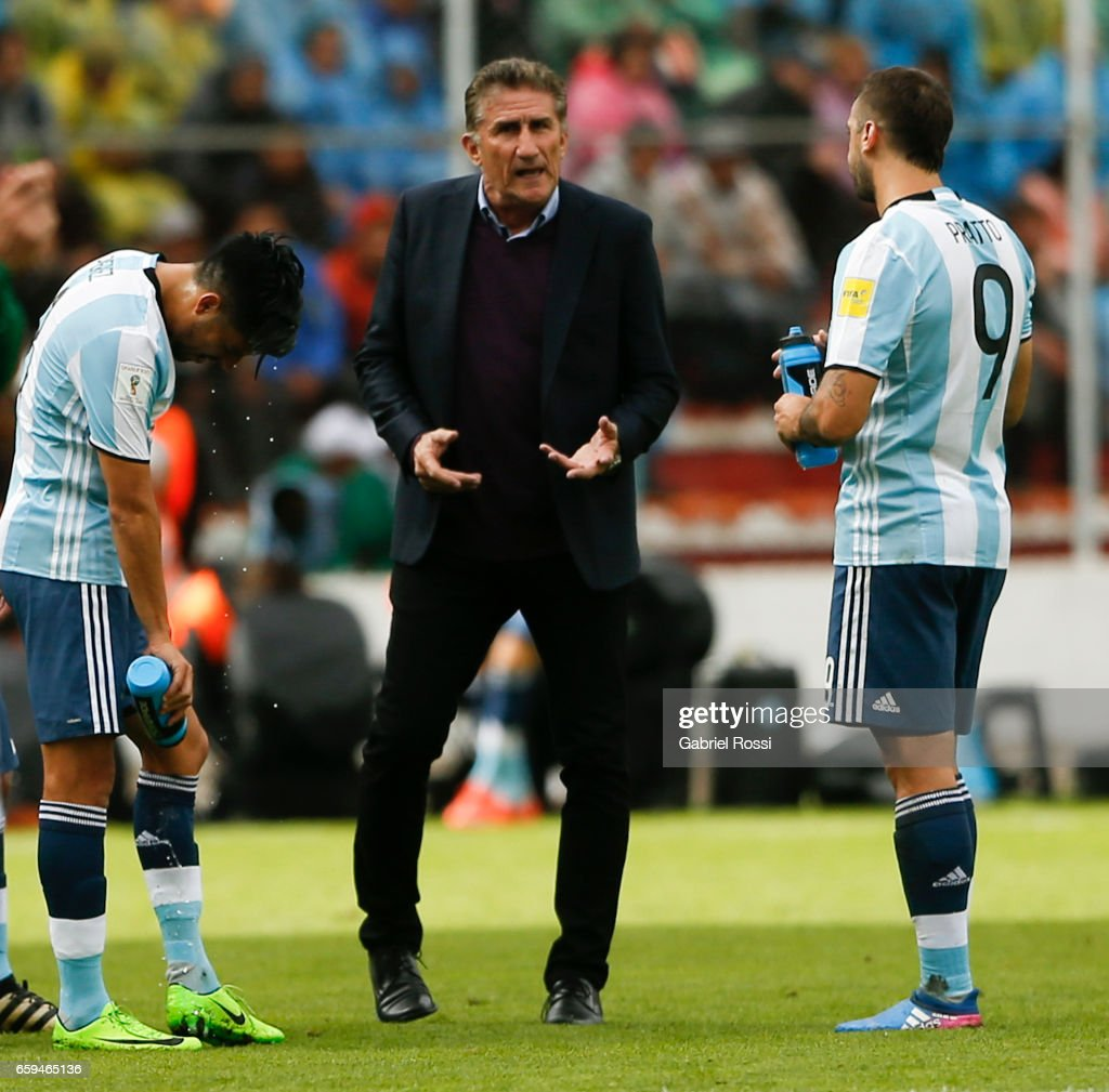 Bolivia v Argentina - FIFA 2018 World Cup Qualifiers : News Photo