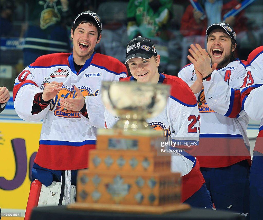 Edmonton Oil Kings v Guelph Storm - Final : News Photo