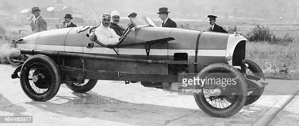 SF Edge in a Spyker car 1922 Edge drove this car to set a 24 hour average speed record of 745 mph at Brooklands in 1922