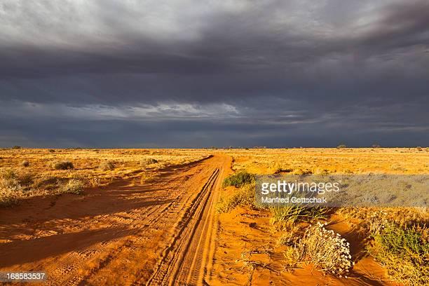 Edge of the Simpson Desert