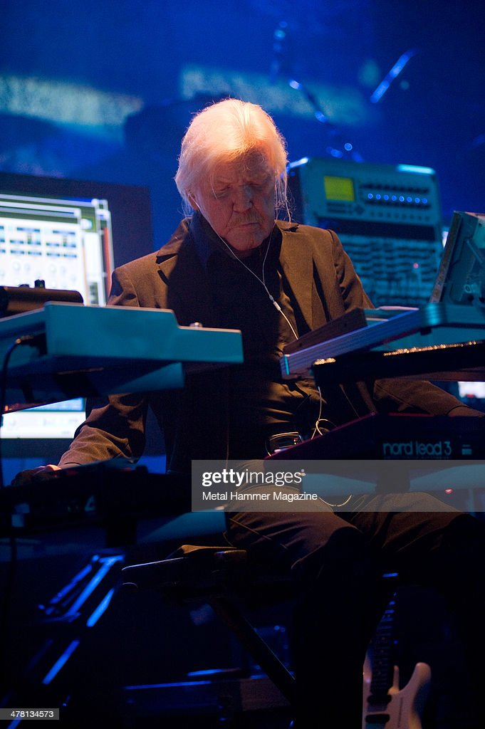 Edger Froese of German electronic music group Tangerine Dream