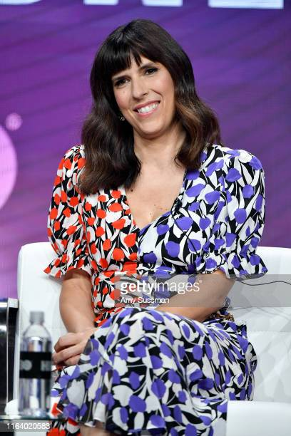 Edi Patterson of 'The Righteous Gemstones' speaks during the HBO segment of the Summer 2019 Television Critics Association Press Tour 2019 at The...