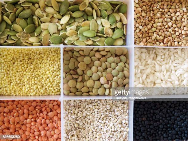 edible grains - millet stock pictures, royalty-free photos & images