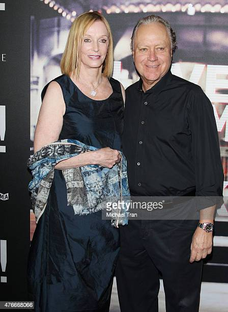Edie Baskin arrives at the Los Angeles premiere of Abramorama's Live From New York held at Landmark Theatre on June 10 2015 in Los Angeles California