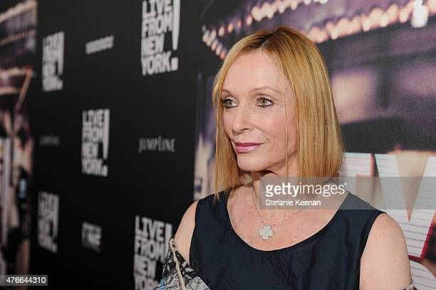 Edie Baskin attends the Live From New York Los Angeles premiere at Landmark Theatre on June 10 2015 in Los Angeles California