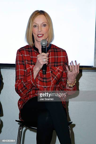 Edie Baskin attends the Vanity Fair Campaign Hollywood Social Club Behind the Pages Taschen Presents Saturday Night Live The Complete History With...