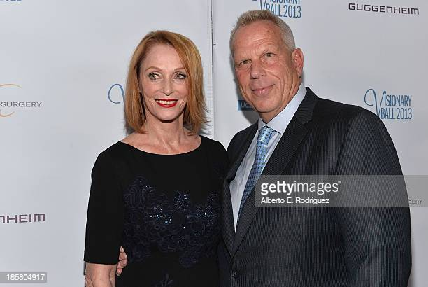 Edie Baskin Bronson and producer Steve Tisch arrive to the 2013 UCLA Neurosurgery Visionary Ball at the Beverly Wilshire Four Seasons Hotel on...