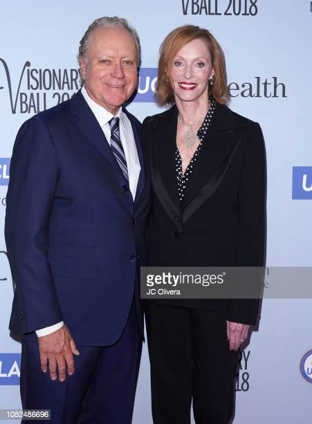 Edie Baskin Bronson and Richard 'Skip' Bronson attend the 2018 Visionary Ball benefiting the UCLA department of neurosurgery at The Beverly Hilton...
