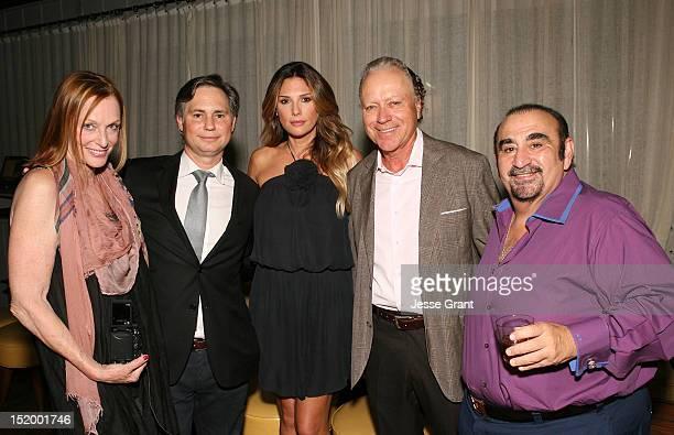 Edie Baskin DuJour Magazine CEO Jason Binn Daisy Fuentes Skip Bronson and Ken Davitian attend DuJour's Nicole Richie October Cover Party hosted by...