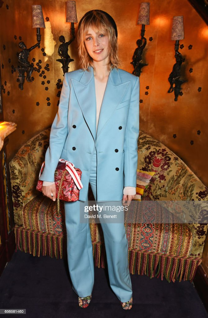 Edie Campbell And Kurt Geiger Flash Dinner