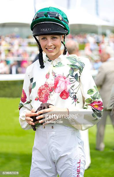 Edie Campbell Winner of The Magnolia Cup at 'Glorious Goodwood' Goodwood Racecourse 31st July 2014