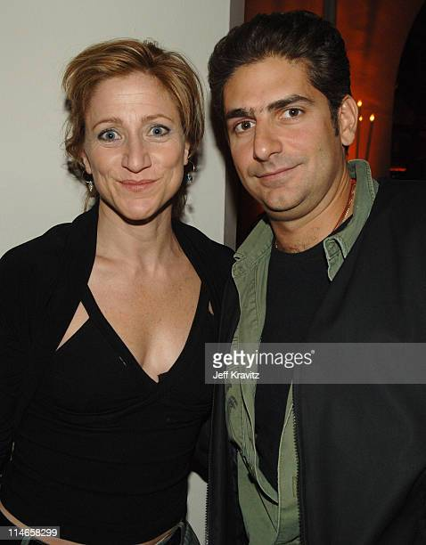 Edie Falco and Michael Imperioli during HBO's Annual PreGolden Globes Private Reception at Chateau Marmont in Los Angeles California United States