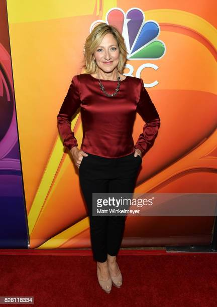 Edie Falco at the NBCUniversal Summer TCA Press Tour at The Beverly Hilton Hotel on August 3 2017 in Beverly Hills California