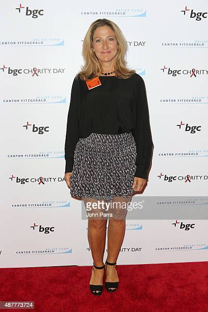 Edie Falco attends Annual Charity Day hosted by Cantor Fitzgerald and BGC at BGC Partners INC on September 11 2015 in New York City