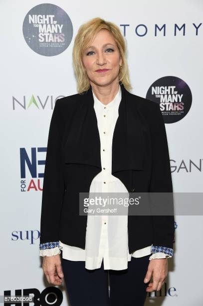 Edie Falco attends HBO's Night Of Too Many Stars America Unites For Autism Programs at The Theater at Madison Square Garden on November 18 2017 in...