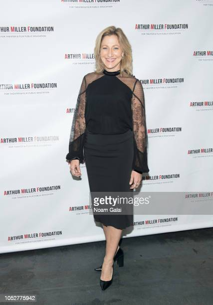 Edie Falco attends the 2018 Arthur Miller Foundation Honors at City Winery on October 22 2018 in New York City