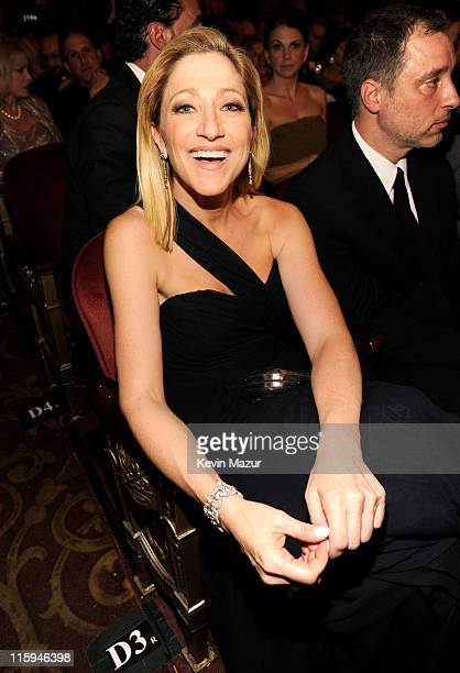 Edie Falco attends the 65th Annual Tony Awards at the Beacon Theatre on June 12 2011 in New York City