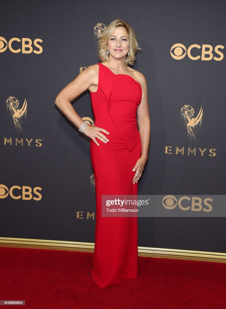 Edie Falco attends the 69th Annual Primetime Emmy Awards at Microsoft Theater on September 17, 2017 in Los Angeles, California.