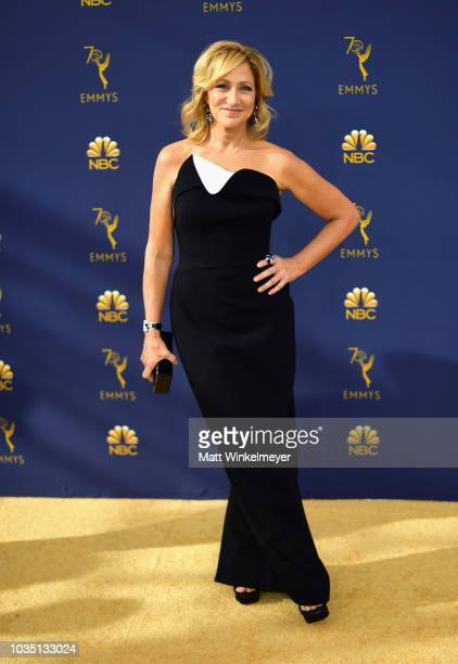 Edie Falco attends the 70th Emmy Awards at Microsoft Theater on September 17 2018 in Los Angeles California