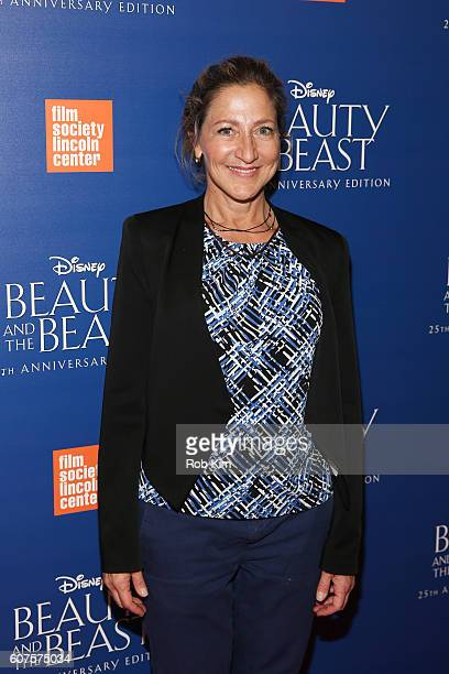 Edie Falco attends the Beauty The Beast 25th Anniversary Screening at Alice Tully Hall Lincoln Center on September 18 2016 in New York City