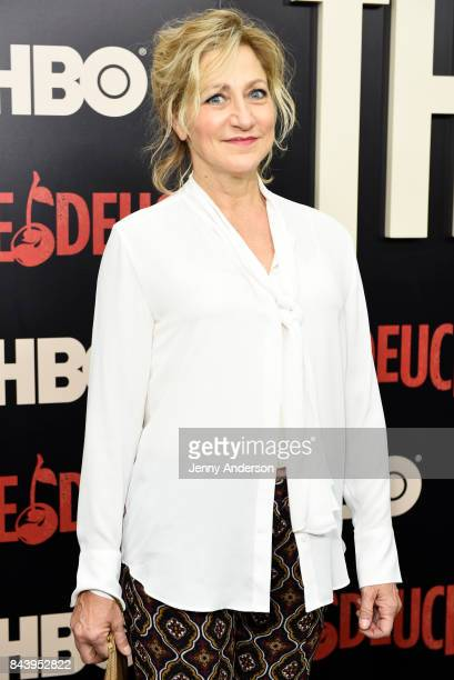 Edie Falco attends The Deuce New York Premiere at SVA Theater on September 7 2017 in New York City