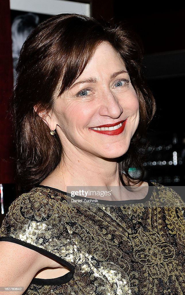 Edie Falco attends 'The Madrid' opening night party at Red Eye Grill on February 26, 2013 in New York City.