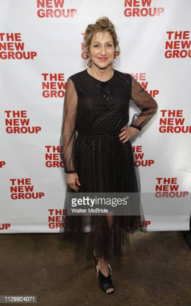 Edie Falco attends the New Group Annual Gala at Tribeca Rooftop on March 11 2019 in New York City