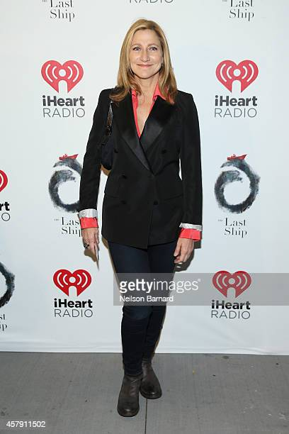 Edie Falco attends the opening night of 'The Last Ship' on Broadway at The Neil Simon Theatre on October 26 2014 in New York City