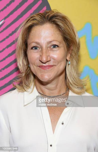 Edie Falco attends the Opening Night Performance of ''Head Over Heels' at the Hudson Theatre on July 26 2018 in New York City