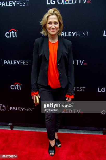 Edie Falco attends the PaleyFest NY 2017 Oz reunion at The Paley Center for Media on October 15 2017 in New York City