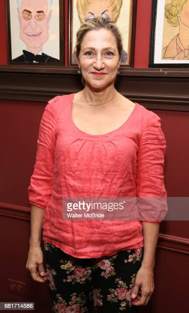 Edie Falco attends the The Robert Whitehead Award presented to Mike Isaacson at Sardi's on May 10 2017 in New York City