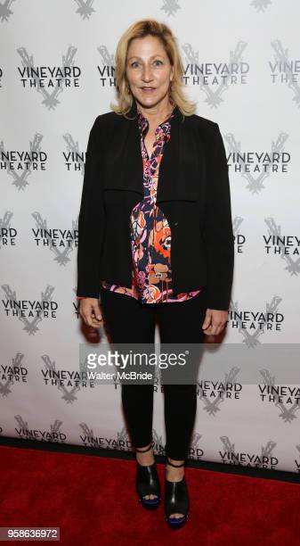 Edie Falco attends the Vineyard Theatre Gala 2018 honoring Michael Mayer at the Edison Ballroom on May 14 2018 in New York City